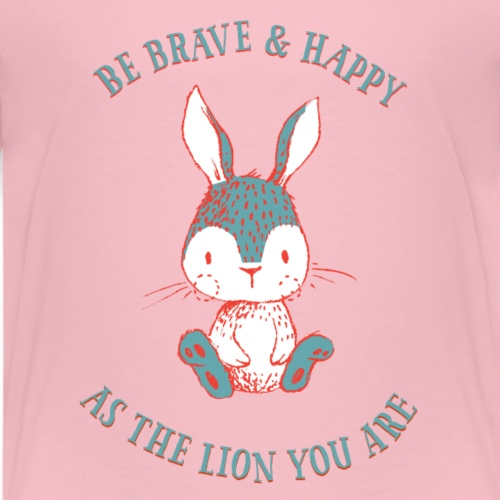 Brave rabbit - Kids' Premium T-Shirt