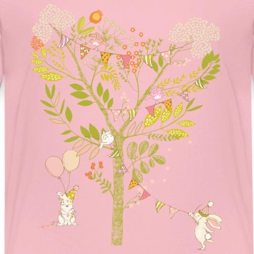 rabbit Party - Kids' Premium T-Shirt