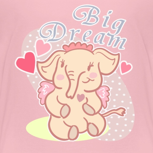 Big Dream Elephant - Kids' Premium T-Shirt