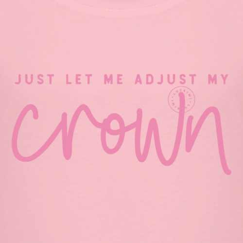 Crown pink - Premium-T-shirt barn