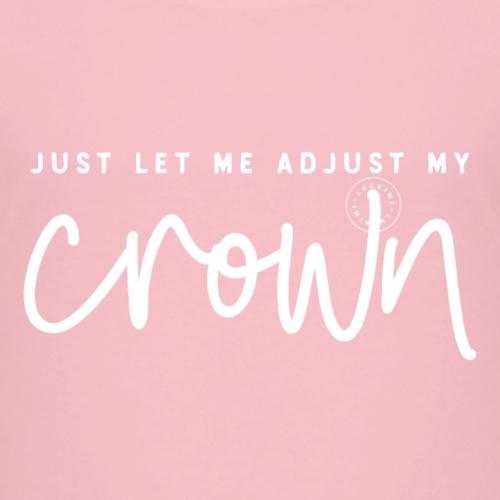 Crown white - Kids' Premium T-Shirt