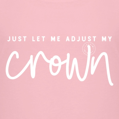 Crown white - Premium-T-shirt barn