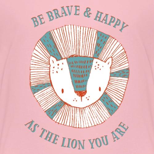 Brave lion - Premium-T-shirt barn