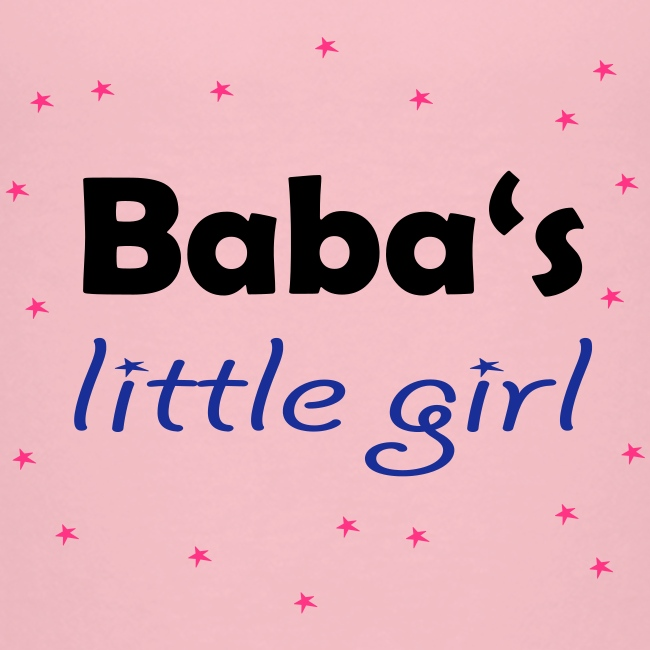 """Baba's little girl"" Babylätzchen"