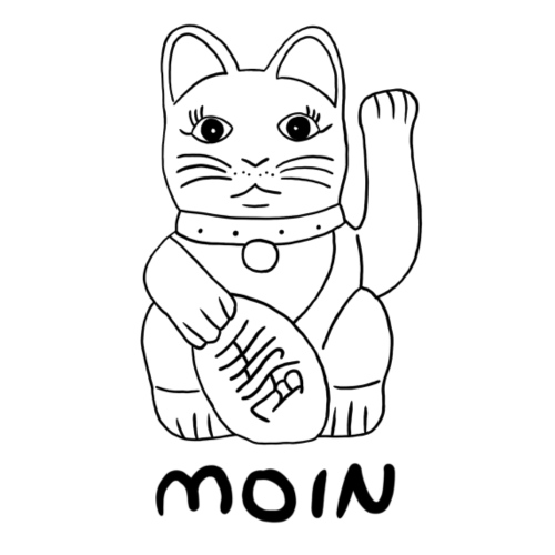 Moin Cat - Kinder Premium T-Shirt