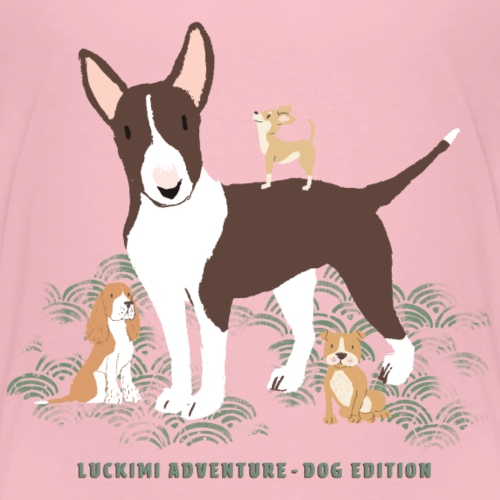 Dog edition - Kids - Premium-T-shirt barn