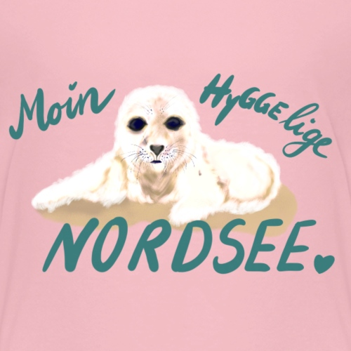 Hygge Robbe - Kinder Premium T-Shirt
