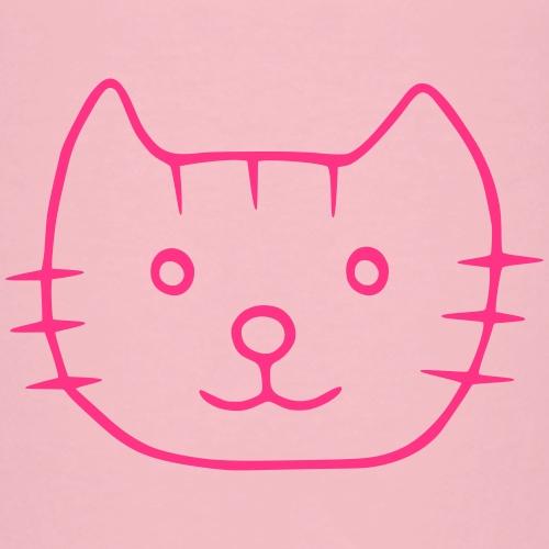 Katze Rosa Mädchen - Kinder Premium T-Shirt