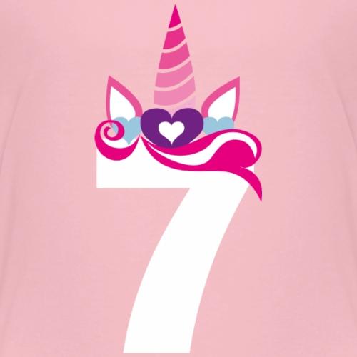 7. Geburtstag - Mädchen Girl Geschenk - Kinder Premium T-Shirt