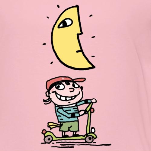 Charly und der Mond - Kinder Premium T-Shirt