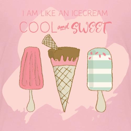 Icecream strawberry - Kids' Premium T-Shirt