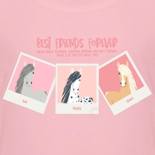 Best horse friends forever - Kids' Premium T-Shirt