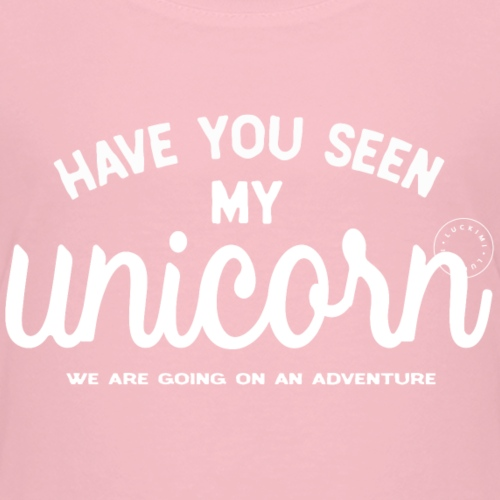 Unicorn white - Kids' Premium T-Shirt