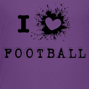 iLove Football - Kids' Premium T-Shirt