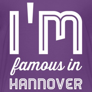 im famous in Hanover white - Kids' Premium T-Shirt