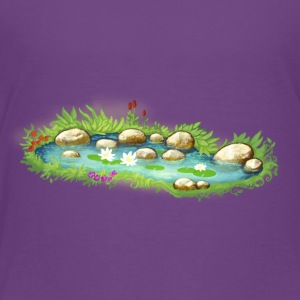 Garden Pond Pond Water Plants - Kids' Premium T-Shirt