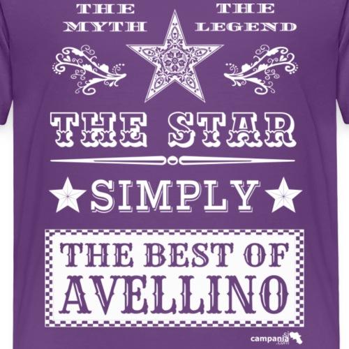 1,03 The Star Legend Avellino Bianco - Maglietta Premium per bambini