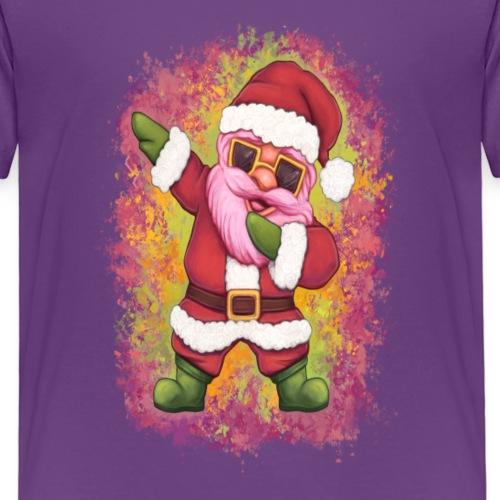 Dabbing Santa Claus Weihnachtsmann - Kinder Premium T-Shirt