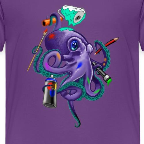Graffiti skwid - T-shirt Premium Enfant