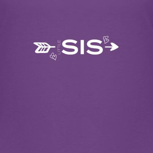 Little Sis Kleine Schwester Geschwister - Kinder Premium T-Shirt