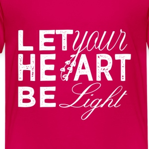 XMAS 2016 - LET YOUR HEART BE LIGHT - Kids' Premium T-Shirt