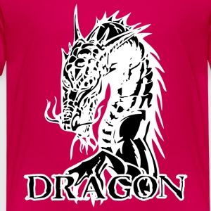 Agry regardant dragon noir - T-shirt Premium Enfant