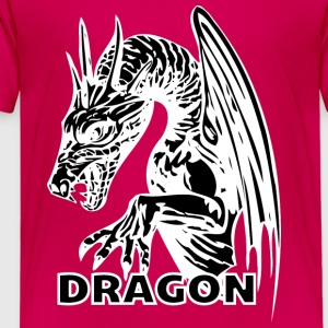 dragon hands black - Kids' Premium T-Shirt