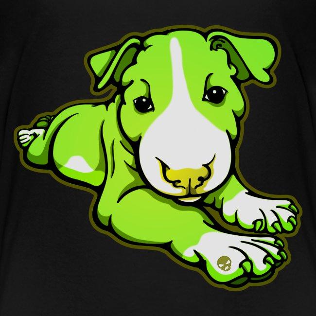 Lime Chilled Bull Terrier