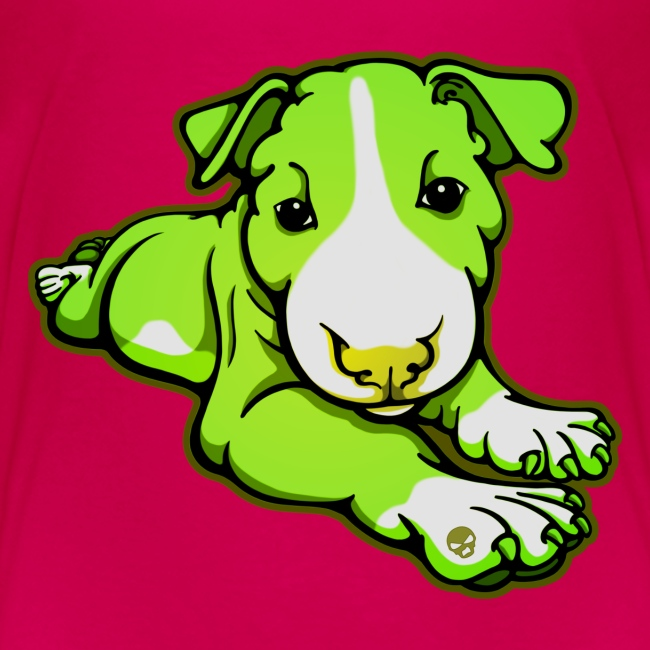 Lime Chilled Bull Terrier