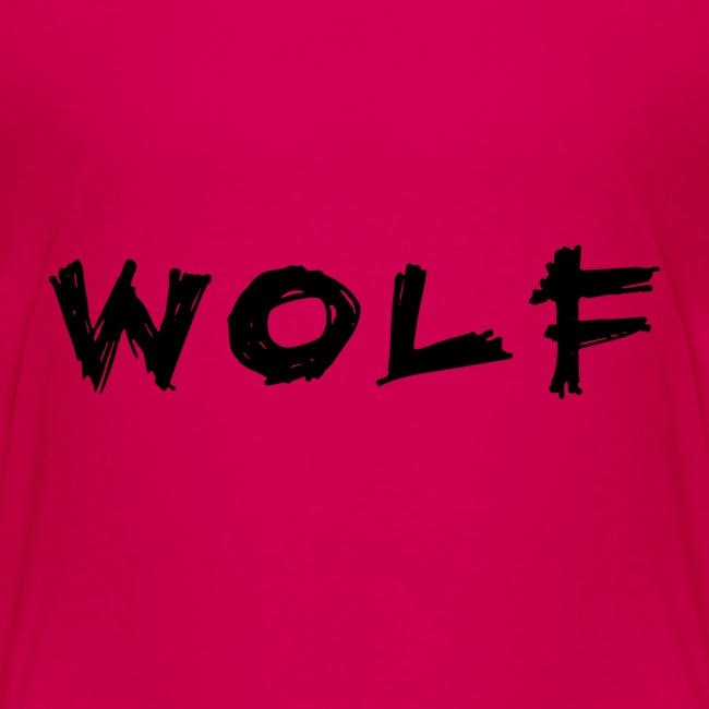 Wolf Font png