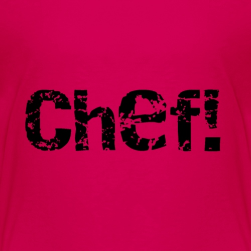 chef! - Premium-T-shirt barn