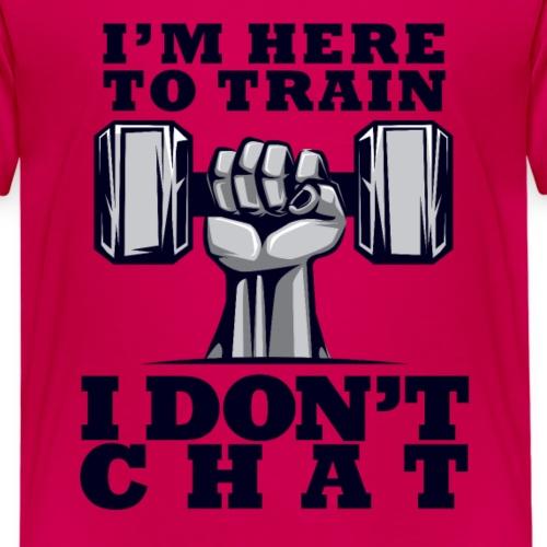 Train Chat - Lasten premium t-paita