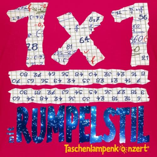 1x1 mit RUMPELSTIL - Schummelshirt - Kinder Premium T-Shirt