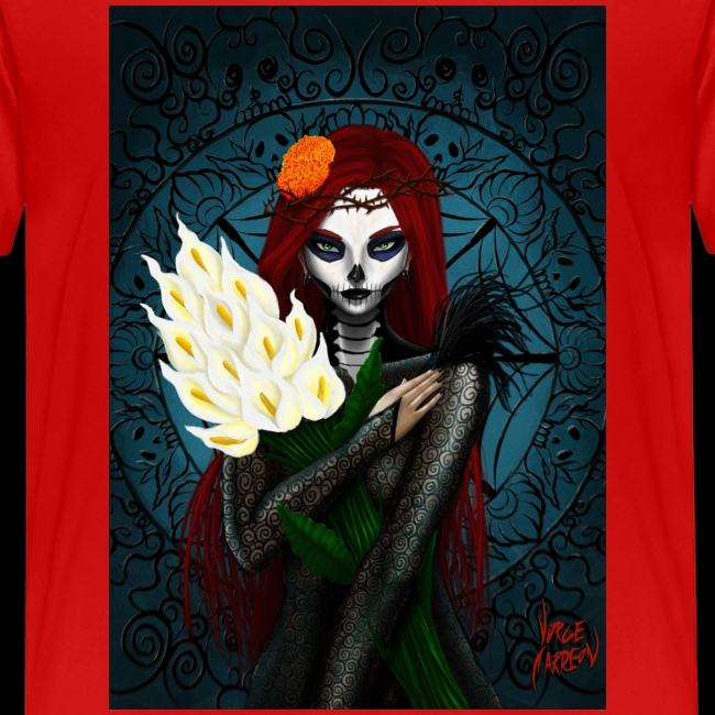 Death and lillies