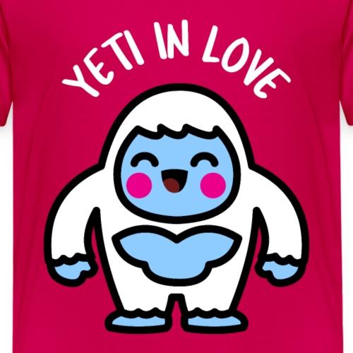 Kawaii Yeti in Love