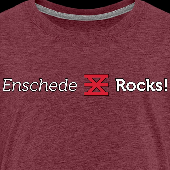 Enschede Rocks Logo - W