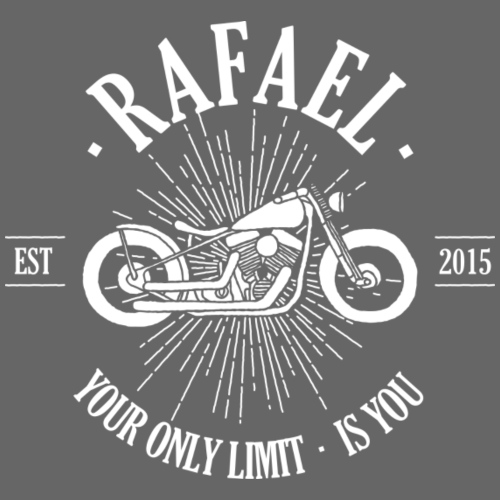 Rafael | Your Only Limit Is You | Motorrad - Kinder Premium T-Shirt