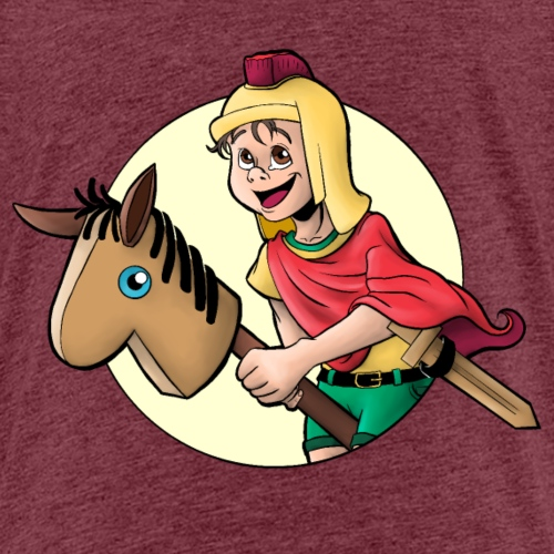 Kind als Sankt Martin - Kinder Premium T-Shirt