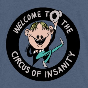 Cheslo: Welcom au cirque de la folie - T-shirt Premium Enfant