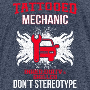 tatoverede MECHANIC - Børne premium T-shirt