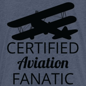 Pilot: Certificeret Aviation Fanatic. - Børne premium T-shirt