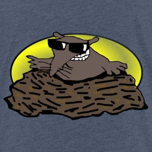 Animal Djur Mole - Premium-T-shirt barn