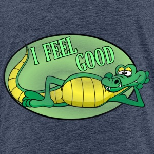 Krokodil Alligator - Kinder Premium T-Shirt