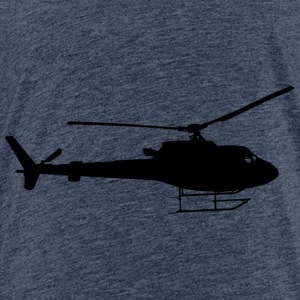 aircraft, helikopter - Kinder Premium T-Shirt