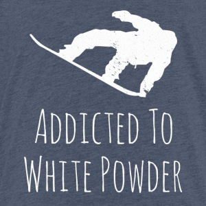 Addicted to White Powder - Kinder Premium T-Shirt