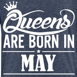 Queen May Birthday - Kids' Premium T-Shirt