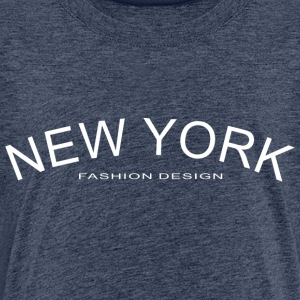 NEW YORK FASHION DESIGN - Kinderen Premium T-shirt