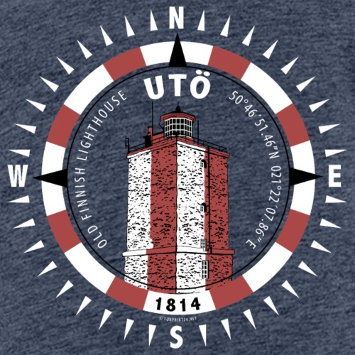 UTÖ MAJAKKA Kompassi - Tekstiilit ja lahjatuotteet - Lasten premium t-paita