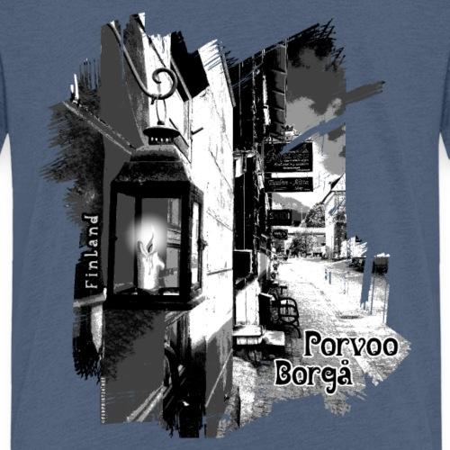 Porvoo vanhakaupunki - Tekstiili- ja lahjatuotteet - Lasten premium t-paita