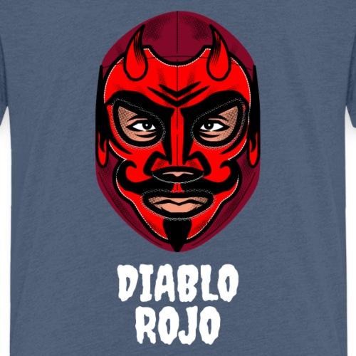 Máscara Diablo Rojo | Lucha Libre México - Camiseta premium niño